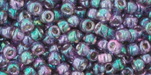 TOHO Seed Beads 8/0 Rounds Gold Lustered Hydrangea 8 gram tube