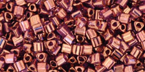 Toho Seed Beads 11/0 Rounds #326 Gold lustered Lilac 20 gram