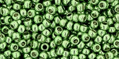 Toho Seed Beads 11/0 Rounds #331 Galvanized Seafoam 50 gram