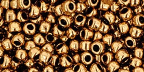 Toho Bulk Seed Beads 8/0 Rounds #81 Bronze 250 grams