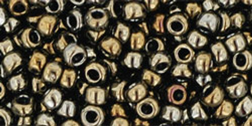 Toho Bulk Seed Beads 8/0 Rounds # 84 Metallic Iris Brown 250g Factory Pak