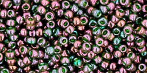 Toho Bulk Seed Beads 11/0 Rounds #22 Gold-Lustered Orion 250g Fac Pak