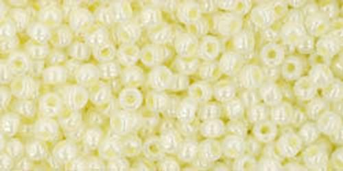Toho Bulk Seed Beads 11/0 Rounds #298 Ceylon Banana Cream 250g