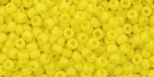 TOHO Seed Beads 11/0 Rounds #352 Opaque Dandelion 20 gram