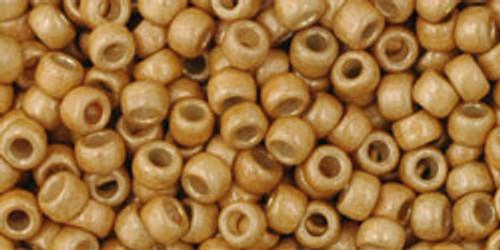 Toho Seed Beads 8/0 Rounds # 111 Permanent Finish Galvanized Matte Starlight 20g