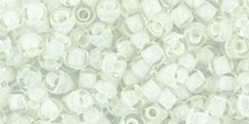 Toho Seed Beads 8/0 Rounds #119 Reflection White 50 gram pack