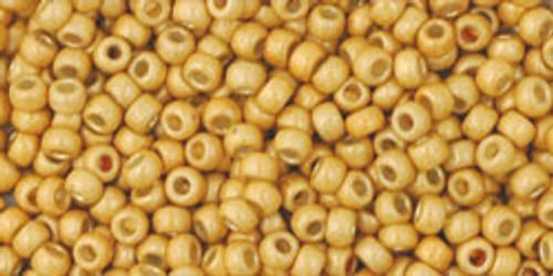 Toho Seed Beads 11/0 Rounds Permanent Finish Matte Galvanized Starlight