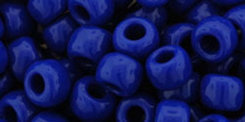 Toho Seed Beads 3/0 Rounds #48 'Opaque Navy Blue' 8 Gram Tube