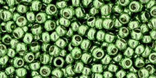 Toho Bulk Seed Beads 11/0 Round #364 Permanent Finish Galvanized Sea Foam 250g Factory Pak