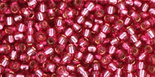 Toho Bulk Beads 11/0 #264 Silver Lined Mauve 250 gram Factory Pack