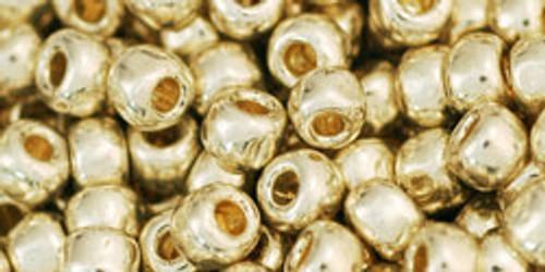 Toho Beads 6/0 Rounds #19 Permanent Finish Galvanized Aluminum 250g