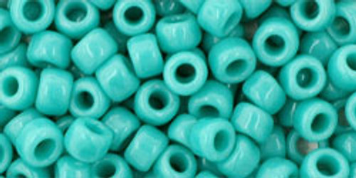Toho Beads 6/0 Rounds #21 Opaque Turquoise 20 Gram Pack
