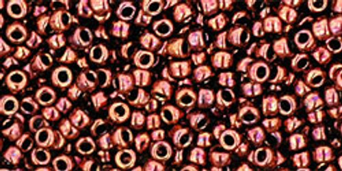Toho Seed Beads 11/0 Round #366 Dark Bronze 50 Gram Pack