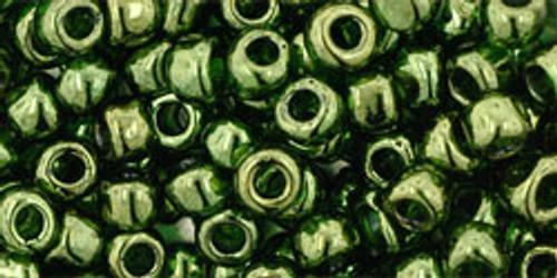 Toho Seed Beads 11/0 Round #368 Gold Lustered Fern 50 Gram Pack