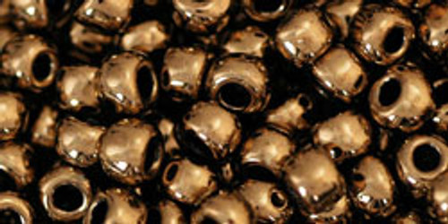 Toho Seed Beads 6/0 Rounds #25 Bronze 20 gram pack