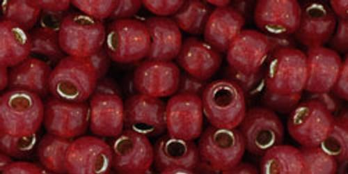 Toho Bulk Beads 6/0 Round #33 Silver Lined Milky Pomegranate 250g