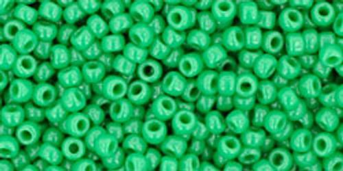 Toho Seed Beads 11/0 Round #379 Opaque Shamrock 20 gram pack