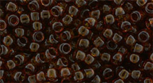 Toho Bulk Beads 8/0 Round #149 Transparent Umber 250 Gram Pack