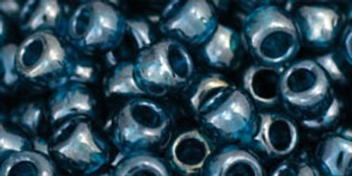 Toho Bulk Beads 6/0 Rounds #60 Transparent Lustered Teal 250 gram.