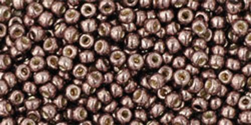Toho Seed Beads 11/0 Round Permanent Finish Galvanized Mauve 8 gram