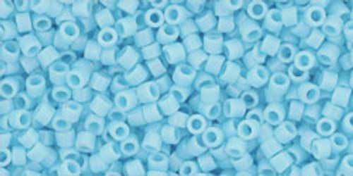 Toho Seed Beads #1 Treasure #43 Opaque Blue Turquoise 50 gram pack