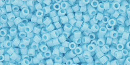 Toho Seed Beads #1 Treasure #43 Opaque Blue Turquoise 100 grams