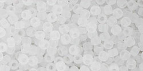 Toho Beads 11/0 Round #393 Ceylon Frosted Snowflake 50 gram