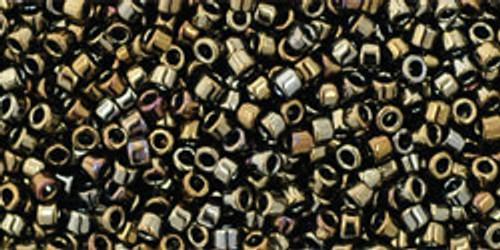 Toho Seed Beads #1 Treasure  Metallic Iris Brown 100 gram