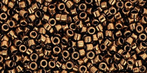 Toho Seed Beads #1 Treasure #221 (Metallic) Bronze 10 gram