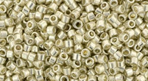 Toho Seed Beads #1 Treasure #558 Galvanized Aluminum 50 gram