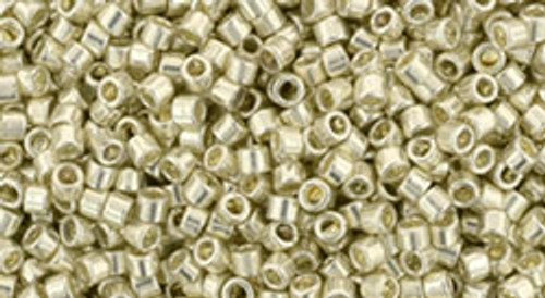 Toho Seed Beads #1 Treasure #558 Galvanized Aluminum 100 gram