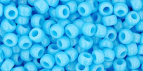 Toho Bulk Beads 8/0 Round #51 Opaque Blue Turquoise 250 gram