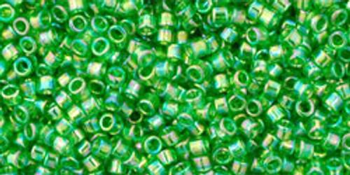 Toho Seed Beads #1 Treasure #167 Transparent Rainbow Peridot 10g