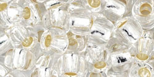 Toho Bulk Beads 3/0 #21 Silver Lined Crystal 250 gram factory pack
