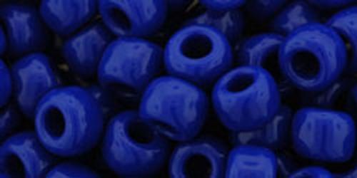Toho Bulk Beads 3/0 Round #48 Opaque Navy Blue 250 gram factory pack