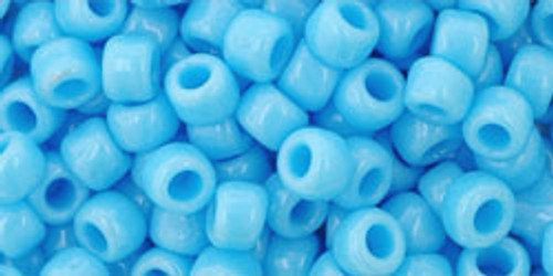 Toho Seed Beads 6/0 Round #70 Opaque Blue Turquoise 50 gram pack