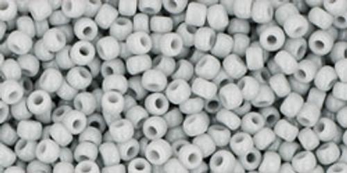 Toho Seed Beads 11/0 Rounds Opaque Gray