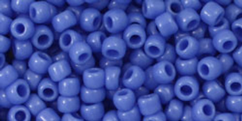 Toho Seed Beads 8/0 Round #195 Opaque Periwinkle 50 gram pack