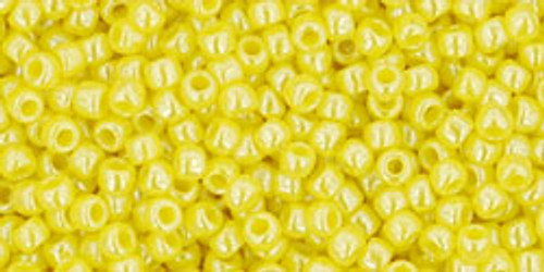 Toho Seed Beads 11/0 Rounds Opaque-Lustered Dandelion