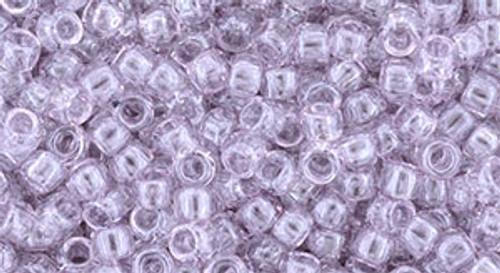 Toho Bulk Beads 8/0 Round #200 Gold Lustered Light Lavender 250 gram