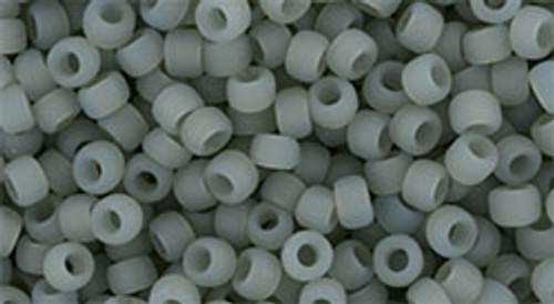 Toho Bulk Seed Beads 8/0 Round #210 Ceylon Frosted Smoke 250 Gram pack