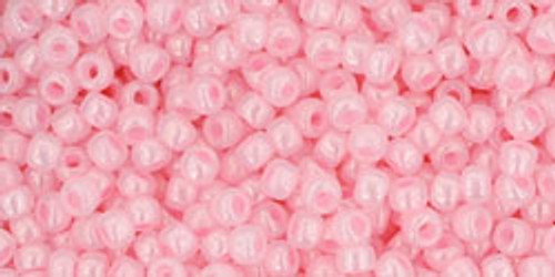 Toho Seed Beads 11/0 Rounds Ceylon Innocent Pink