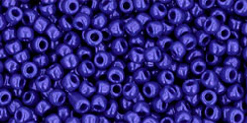Toho Seed Beads 11/0 Rounds #237 Opaque Navy Blue 250 Grams