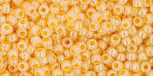 Toho Seed Beads 11/0 Rounds Ceylon Peach Cobbler
