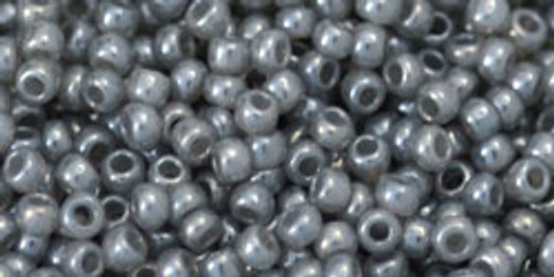 Toho Seed Beads 11/0 Rounds Ceylon Smoke