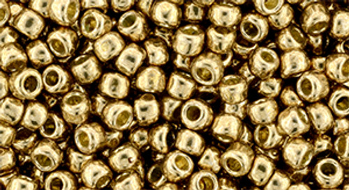 Toho Bead 8/0 #221 'Permanent Finish Galvanized Golden Fleece' 20 gram
