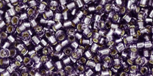 Toho Seed Beads #1 Treasures 11/0 Silver Lined Tanzanite 10 grams