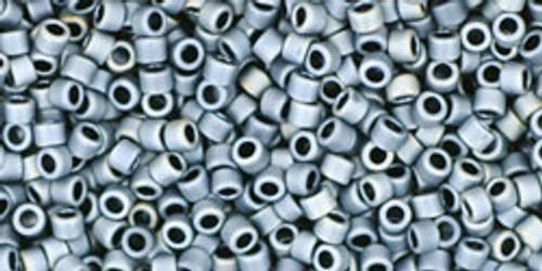 Toho Seed Beads #1 Treasures 11/0 'Matte Gun Metal Gray' 100 grams