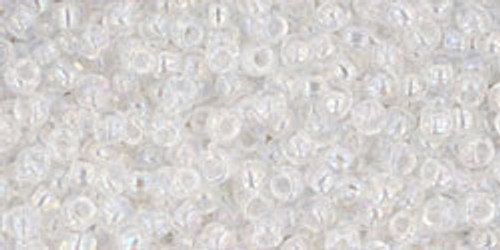 Toho Seed Bead 11/0 Round #108 Transparent Rainbow Crystal 250 g