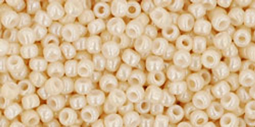 Toho Seed Beads 11/0 #432 Opaque Lustered Light Beige 20g